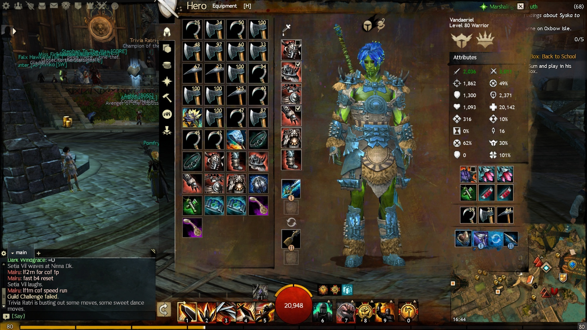 Guild Wars 2 Forum - Warrior