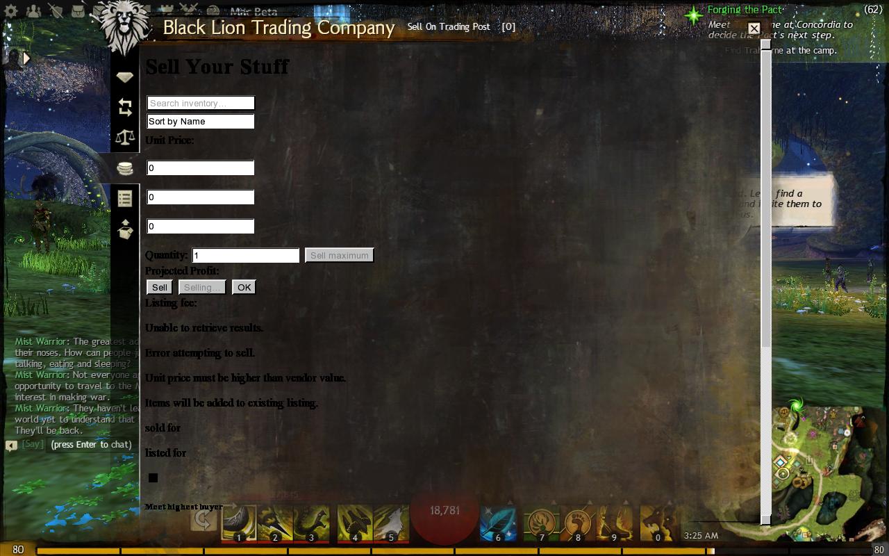 Guild Wars 2 Forum - Black Lion Trading Co