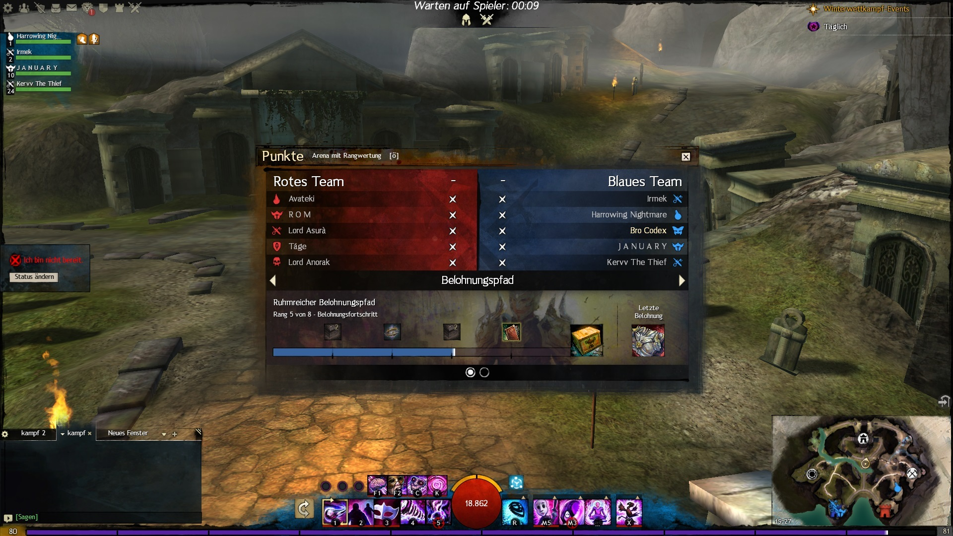 how does wow arena matchmaking work
