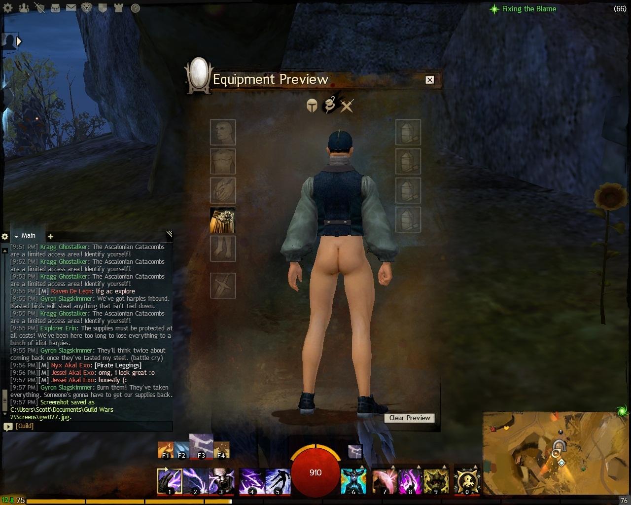 Nude Sylvari